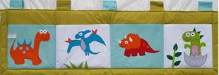 Obrázek Kapsář za postel 160x50cm - Dinosauři