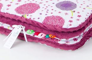 Obrázek Dětská deka Pampeliška Minky 75x100 cm - různé barvy a varianty