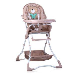 Obrázek Jídelní židlička BONBON Béžová Medvídek