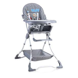 Obrázek Jídelní židlička BONBON Šedá Astronaut