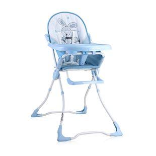 Obrázek Jídelní židlička MARCEL Modrá Zajíček