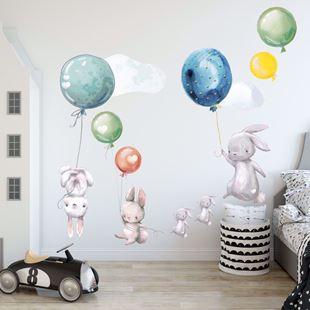 Obrázek Králíčci a balonky