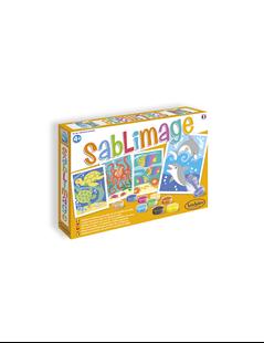 Obrázek Sablimage: Pískové obrázky - Ryby a delfíni