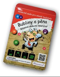 Obrázek Bláznivá vědecká laboratoř - Bubliny a pěna