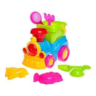 Obrázek Hračky na písek mašinka 8 ks