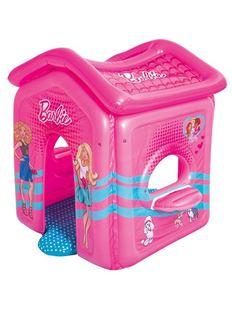 Obrázek Dětský nafukovací domeček Barbie