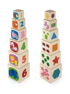Obrázek Dřevěná pyramida pro děti
