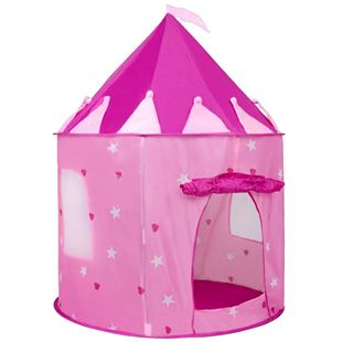Obrázek Dětský stan Hrad růžový