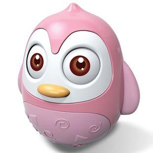 Obrázek Kývací hračka tučňák Růžová