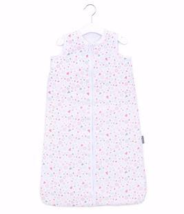 Obrázek Mušelínový spací pytel Srdíčka Růžová - různé velikosti