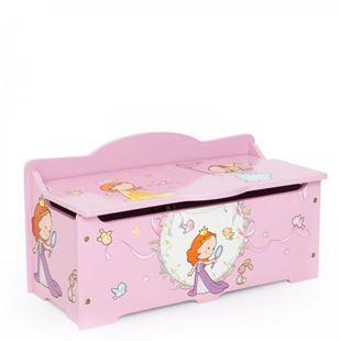 Obrázek Dětská truhla na hračky Princezny
