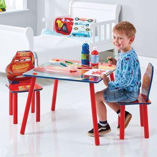 Obrázek Dětský stůl s židlemi Cars