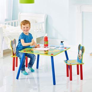 Obrázek Dětský stůl s židlemi Myšák Mickey