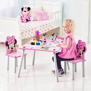 Obrázek Dětský stůl s židlemi Myška Minnie