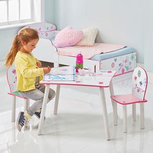 Obrázek Dětský stůl s židlemi Květiny
