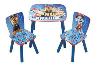 Obrázek Dětský stůl s židlemi Tlapková Patrola