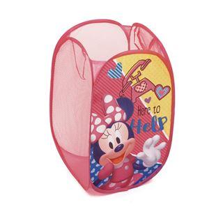 Obrázek Dětský skládací koš na hračky Minnie