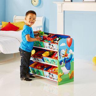 Obrázek Organizér na hračky Myšák Mickey