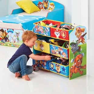 Obrázek Organizér na hračky Tlapková Patrola