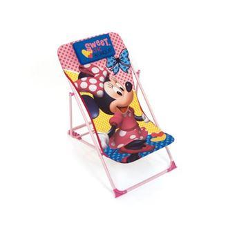 Obrázek z Dětská campingová židlička Minnie