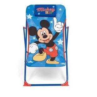 Obrázek Dětské campingové lehátko Mickey