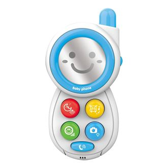 Obrázek z Dětský telefónek se zvuky Modrá