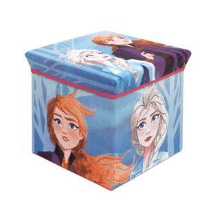 Obrázek Úložný box na hračky Frozen s víkem