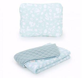 Obrázek Dětská deka s polštářem Les Velvet Lux 75x100 cm - různé barvy a varianty