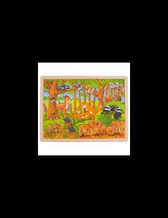 Obrázek Puzzle - mláďata v lese