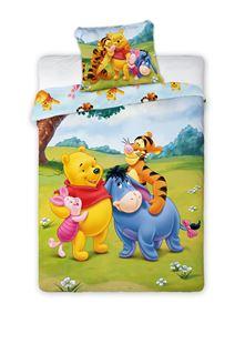 Obrázek Dětské povlečení Medvídek PÚ a kamarádi 135x100 cm