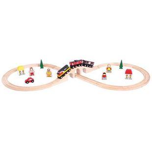 Obrázek Dřevěná vláčkodráha osmička s CN vlakem