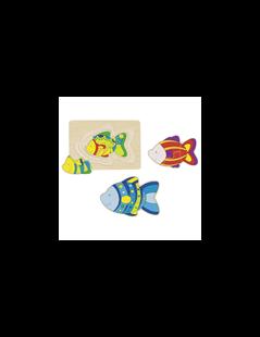 Obrázek Vrstvené puzzle - ryby