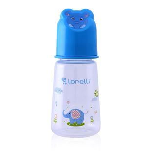 Obrázek Kojenecká láhev 125 ML Zvířátka Modrá