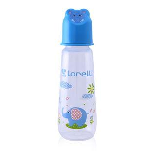 Obrázek Kojenecká láhev 250 ML Zvířátka Modrá