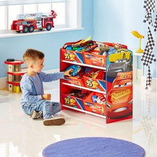 Obrázek Organizér na hračky Cars