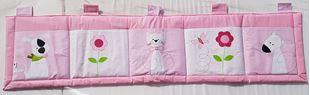 Obrázek Kapsář za postel velký 200x50 cm - Kočička, pejsek, myš