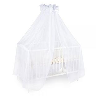 Obrázek Luxusní moskytiéra 200x400cm s mašličkou - bílá