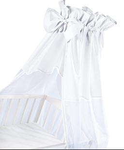 Obrázek Luxusní nebesa 200 x 150 cm s mašličkou - bílá