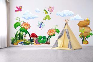 Obrázek Samolepka na zeď Hmyz