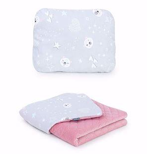 Obrázek Dětská deka s polštářem Mišánci Velvet 75x100 cm - různé varianty