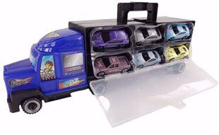 Obrázek Nákladní automobil s autíčky