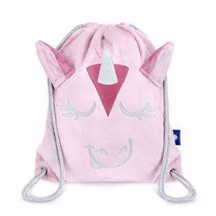 Obrázek Dětský batůžek Jednorožec - růžová