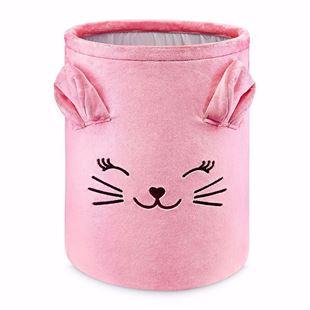 Obrázek Koš na hračky Kočička XL