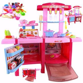 Obrázek z Dětská kuchyňka se zvuky s lednicí a pekárnou