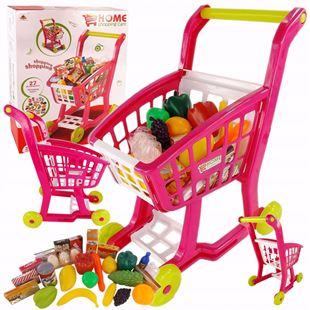 Obrázek Dětský nákupní vozík + příslušenství