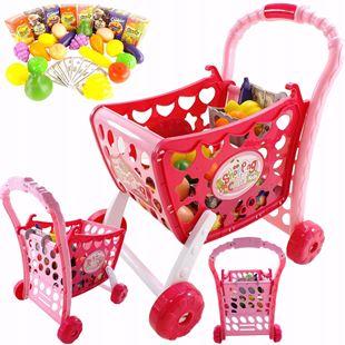 Obrázek Dotykový dětský nákupní vozík 3v1 se zvuky