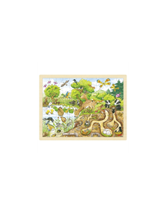 Obrázek Příroda – dřevěné puzzle 96 dílů