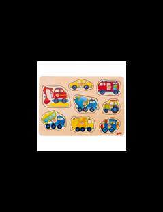 Obrázek Vkládací puzzle - dopravní prostředky
