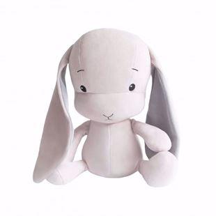 Obrázek Mazlíček Effik Bunny Růžový s šedými oušky
