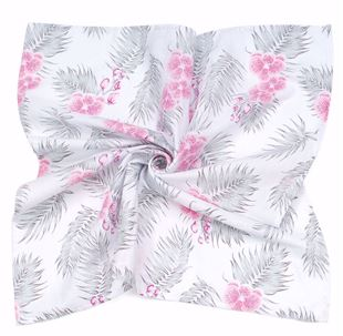 Obrázek Mušelínová plenka/osuška XXL 120x120 Hawai květy